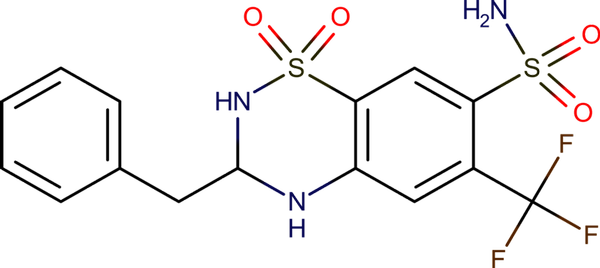 Bendroflumethiazide