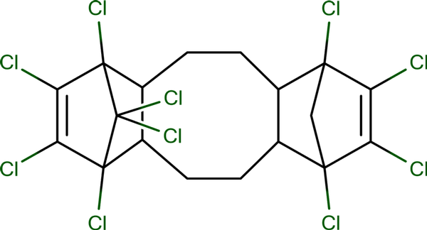 Decachloropentacyclooctadecadiene